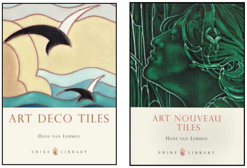 Things Deco Art Nouveau And Art Deco Tile Books Set