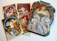 Mucha Note Cards